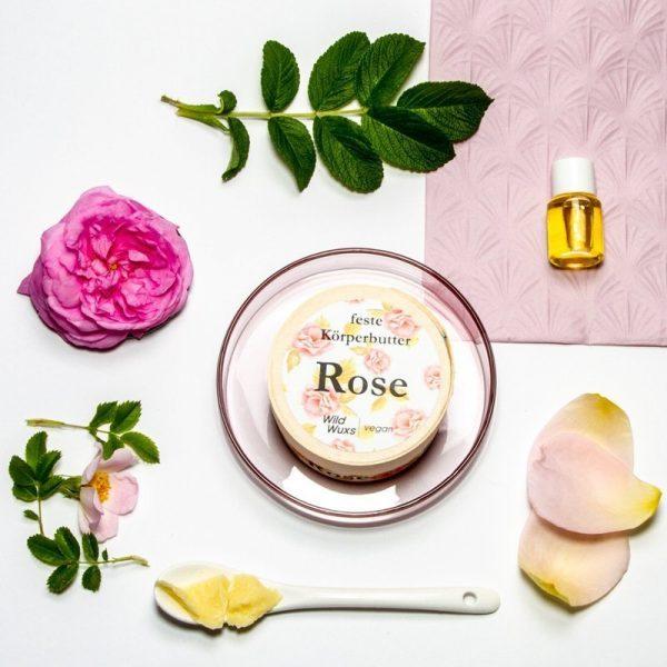 Koerperbutter Rose