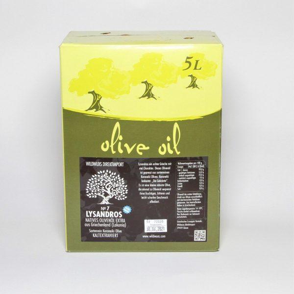 Olivenöl 5l Lyssandros