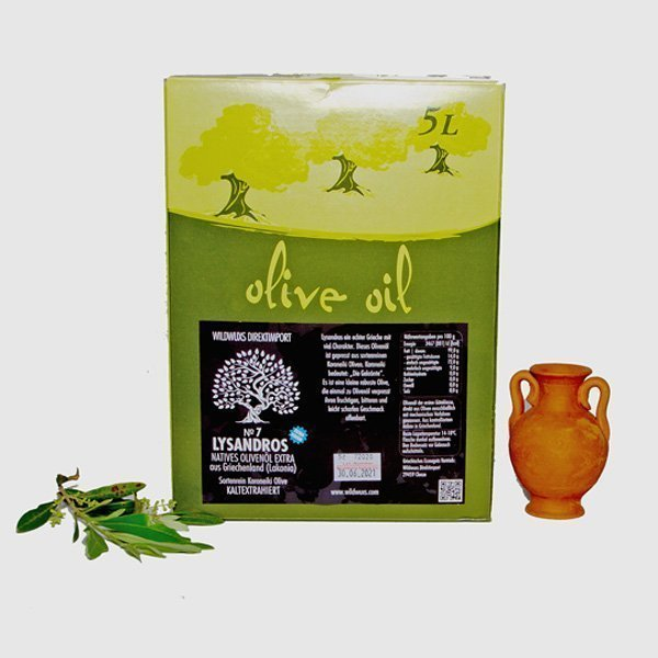 Lyssandros Olivenoel 5 Liter